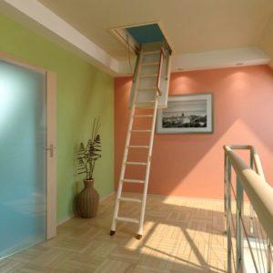 мансардная лестница