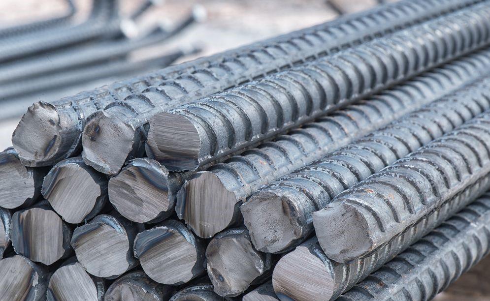 крупный план металлических прутьев